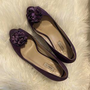 Zara peep toe high heels shoes.